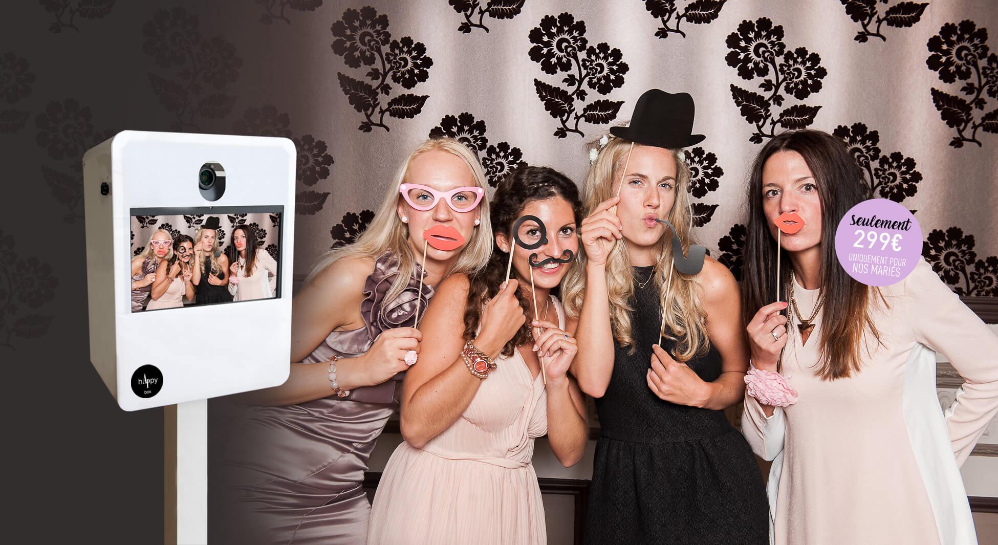 photobooth de mariage comment ça marche?