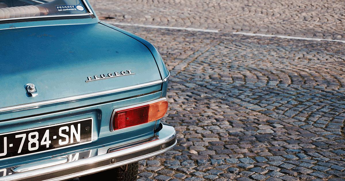 Particularités des plaques d'immatriculation des voitures de collections française?